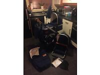 Joolz Day Earth Travel System Parrot Blue Pushchair Buggy Stroller