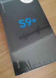 Samsung s9 plus 256GB blue brand new sealed