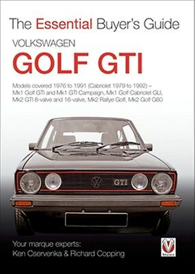 Volkswagen Golf GTI The Essential Buyers Guide book paper