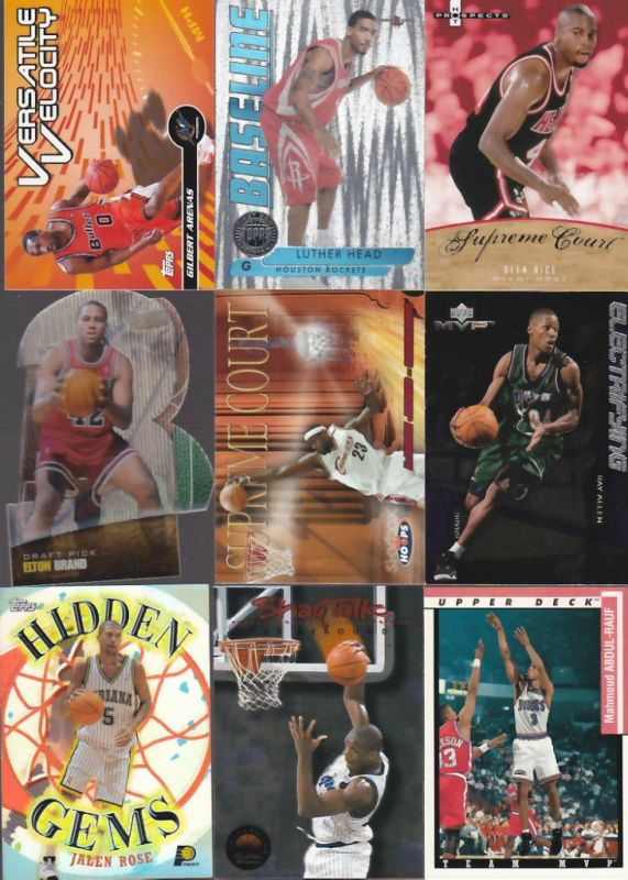 Huge Lot Basketball Sports Card Insert Collection Lebron Kobe Jordan