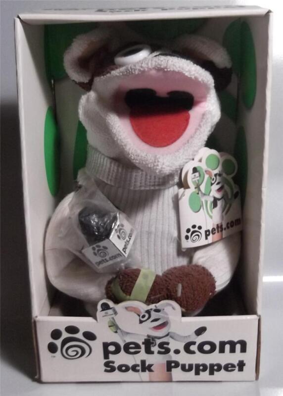Pets Com Sock Puppet Ebay