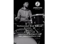 Professional Drum Tuition