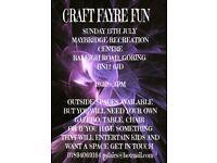 CRAFT FAYRE/FAIR FUN JULY 15TH GORING WEST SUSSEX