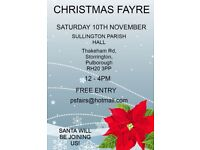 CHRISTMAS CRAFT FAYRE WITH SANTA STORRINGTON WEST SUSSEX 10TH NOVEMBER