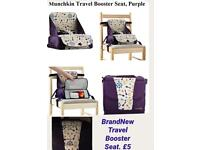Brand new Baby booster seat high chair