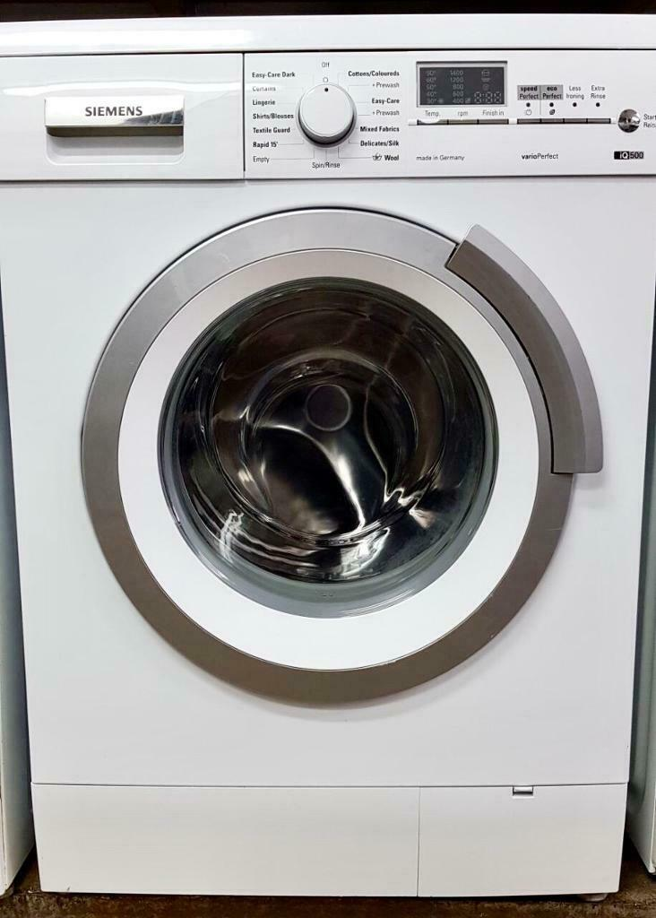 7kg Siemens Washing Machine Includes 6 Months