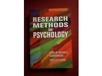 Research Methods in Psychology Text Book by Breakwell, Hammond & Fife-Schaw