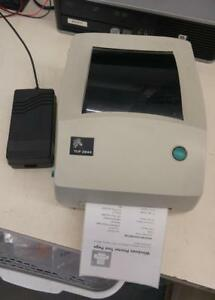 ZEBRA TLP 2844 Label Thermal Printer *USB Parallel Serial* With PS