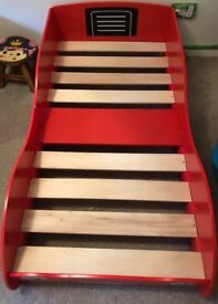 Racing Car Toddler Bed For Sale x 2