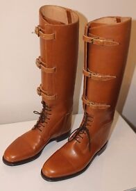 Mens Handmade Leather Riding Boots - £995.00 RRP £2,500