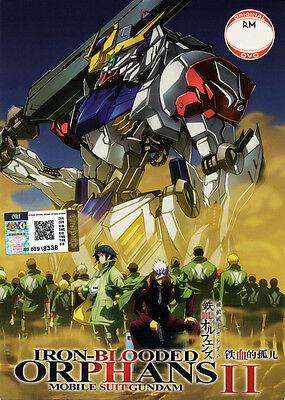 Mobile Suit Gundam  Iron Blooded Orphans Ii Dvd Season 2 Complete 1 25  Japanese