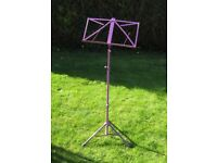 Purple/Mauve Music Stand