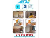 Adi plastering- damp proofing & refurbishments