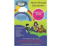 Minor Miracles Day Nursery