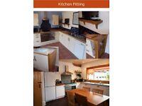 Kitchen fitting, bespoke kitchens, renovation