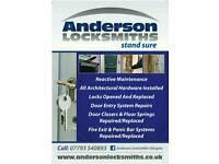 Locksmith, Door & window repair