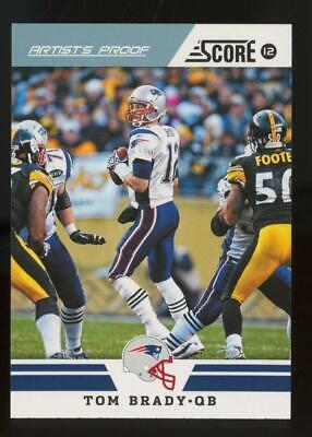 2012 Panini Score Artisits Proof #158 Tom Brady /32