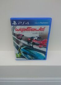 Wipeout Omega Collection PS4 (USED ONCE PERFECT CONDITION)