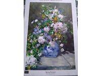 1000 piece jigsaw puzzle Renior's Spring Bouquet