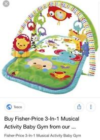 Fishers price play mat