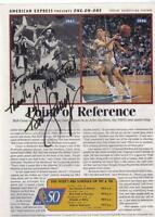 Bob Cousy Autog. his photo on a Sports Illustrated page year1997