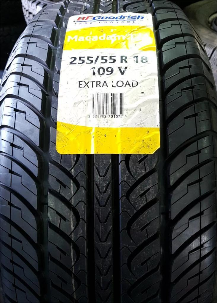 BRAND NEW BF GOODRICH MACADAM A/S TYRE 255 55 18 109V EXTRA LOAD (FREE NATIONWIDE DELIVERY)