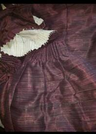 Next purple/aubergine curtains.