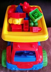 Blocks With Truck