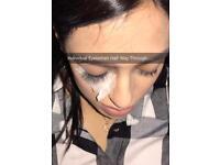 Permanent Individual Eyelash Extensions.