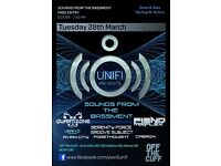 FREE - Multi-genre music event - UNIFI Presents Sounds from the Bassment!