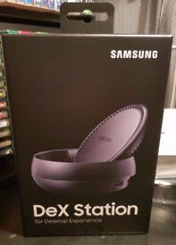 Samsung DeX Station EE-MG950- Black-1-Port 100Mbps LAN, HDMI, USB Type-C