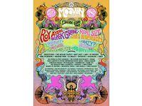 MOOVIN Festival Tickets x3 +CAMPING