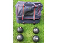 Lawn Bowls - Taylor Concorde - With Carry Bag