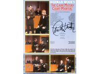 The Caine Mutiny Theatre Programme with Signature of Charlton Heston
