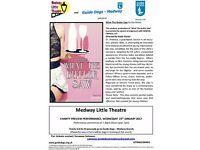 Guide Dogs Charity Theatre Night - Medway Little Theatre - Ticket Sales now open