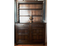 Ercol Dark Oak Welsh Dresser