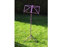 Purple/Mauve Music Stand