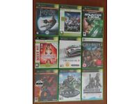 XBOX GAMES COLLECTION - 9 TITLES
