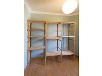 Ikea Ivar shelving system - customise to fit your space