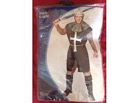 Black Knight fancy dress costume.
