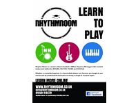 Drum Lessons at The Rhythm Room