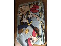 Pirate Jake single duvet cover and pillowcase