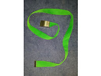 Green Lacoste Belt (not Ralph Lauren, Armani, Hollister, Superdry, Adidas, Nike)