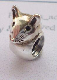 Genuine Pandora Mouse charm 790212 - Retired