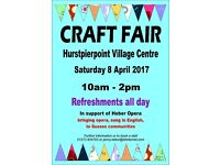 Craft Fair, Hurstpierpoint, 8 April 2017