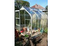 6' Halls Greenhouse