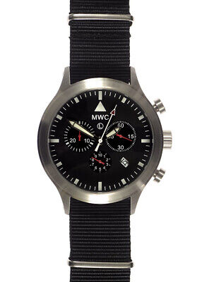 MWC MTEC MKIV Military Chronograph in Stainless Steel Case and Ronda 5040.D Movt Chronograph Ss Case