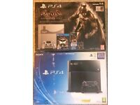 PS4 500GB Std or PS4 Batman Limited Edition or Games/accessories
