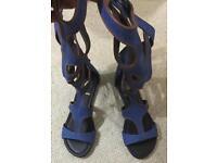 Athena Gladiator Sandal with zip