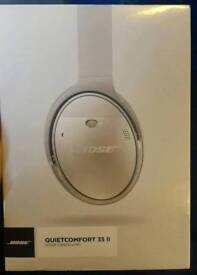 BOSE QUIET COMFORT 35 II - SILVER - NEW/SEALED
